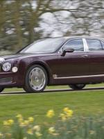 Closer front shot of Bentley Mulsanne Diamond Jubilee Edition