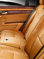 Mercedes-Benz S600 (W221) rear seats