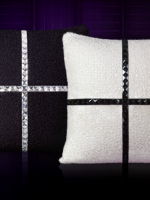 Swarovski crystal Studded Jewellery cushions