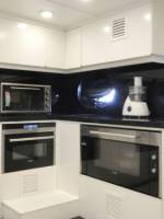 Superyacht Regina_Kitchen area