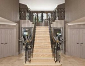 The living hall staircase