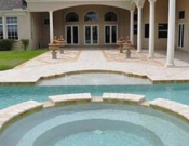 Elegant swimming pool