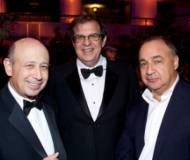 Len Blavatnik with friends