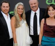 Phil McGraw with Jay, Erica, and Robin