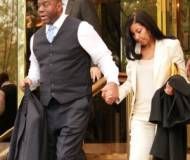 Magic Johnson with his wife Earlitha Cookie Kelly