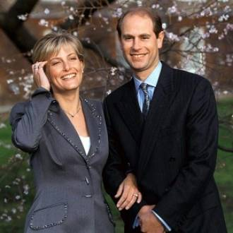 Prince Edward with Sophie Rhys-Jones