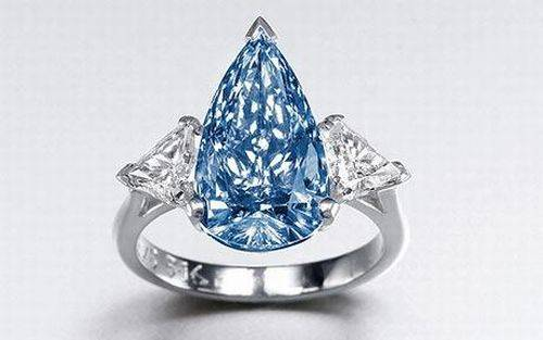 rare blue de beers diamond