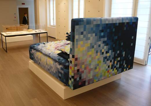 pixelated bed