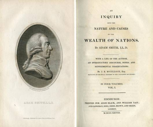 The Rare First Edition by Author Adam Smith Auctioned