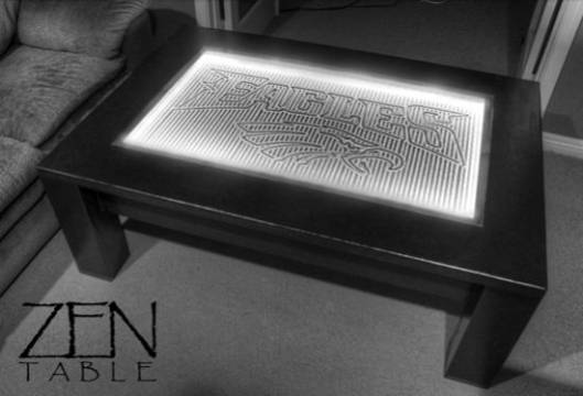 3G Zen coffee table is the perfect meditation furniture for the hi-tech homes