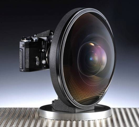A rare Nikon fisheye lens for sale at $160,000