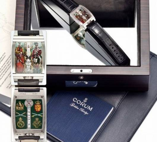 Corum Golden Bridge Napolean watch, Patek Philippe table clock amongst the highlights at Antiquorum Hong Kong Watch Sale