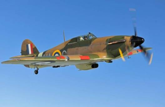 "World War II's Battle of Britain ""The Hurricane"" fighter aircraft is expected to fetch $2.72 million"