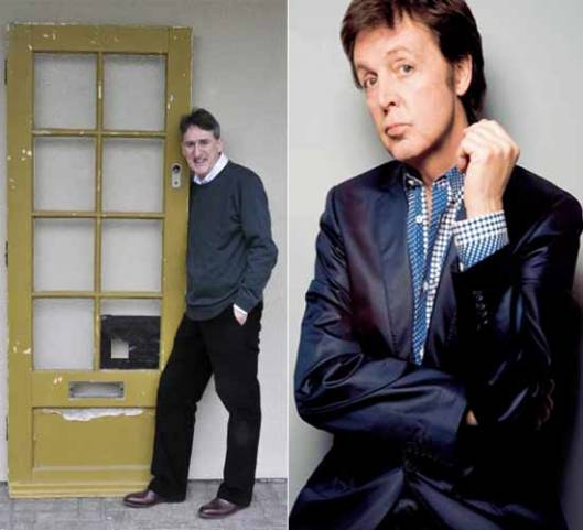 Paul McCartney's Liverpool's home front door is one of the weirdest celebrity memorabilia to auction