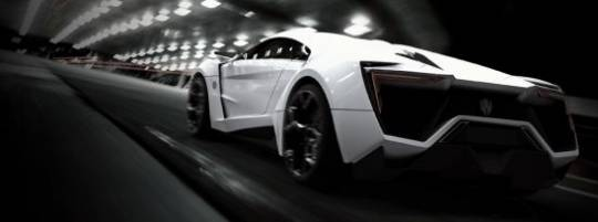 W Motors $3.4 million ultra-luxury LykanHypersport is the first Arabian supercar