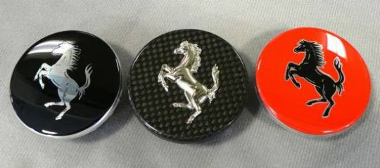 Ferrari exterior wheel caps