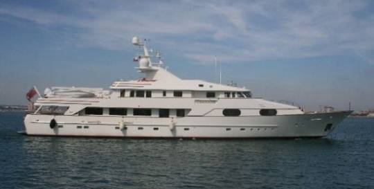 Merle Wood lists Feadship's Charade superyacht custom built for Paul Allen