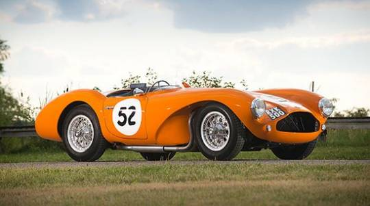 Historic 1955 Aston Martin DB3S Sports Racing Car to fetch $4 million at Monterey auction