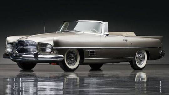 1958 Dual Ghia convertible was one of the biggest Hollywood icons for it's style factor
