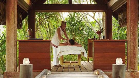Exotic Spa treatments on offer