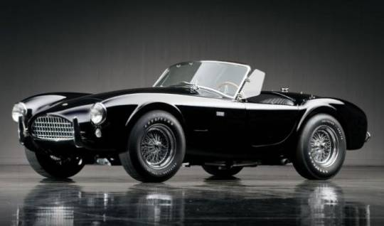 1965 Shelby 289 Cobra is known to originally blue and red in color