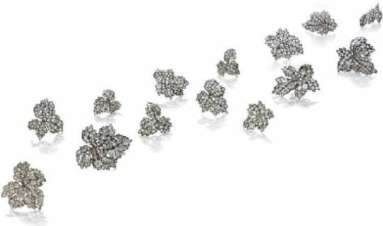 Christie to auction Lily Safra's jewels