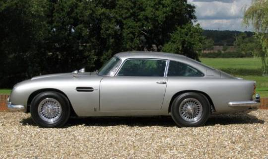 Aston Martin DB5 driven by James Bond from Goldfinger to Skyfall is for sale at $4.7 million