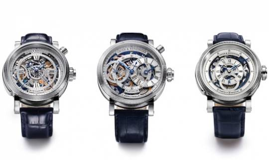 Grieb & Benzinger unveil 3 of the world's heaviest platinum watches