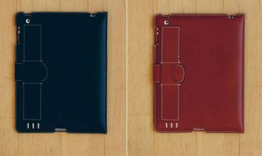 Vaccheta leather iPad case colors