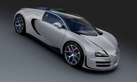 Bugatti unveiled a one-off Veyron Grand Sport Vitesse
