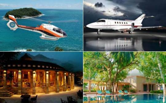 Remote Lands offer an Ideal India Luxury Vacation by Private Jet and Helicopter