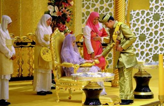 Brunei's daughter Princess Hafizah Sururul Bolkiah wedding