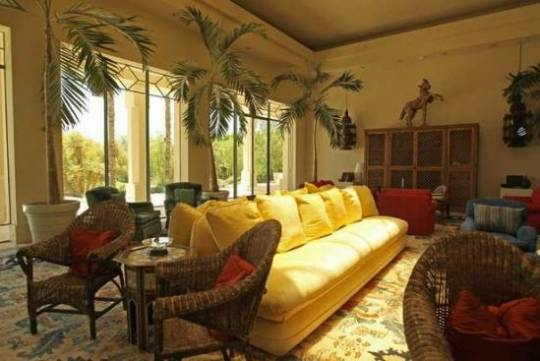 Merv Griffin's 39-acre Palm Springs-area