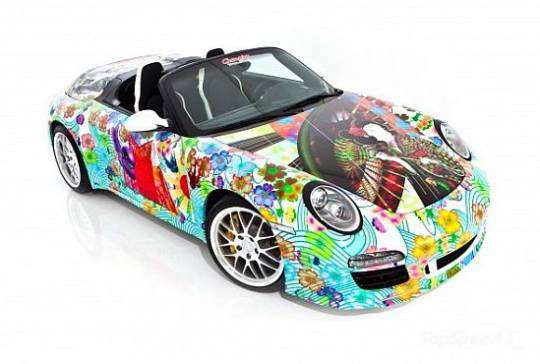 Porsche 911 Speedster Art car by Miguel Paredes