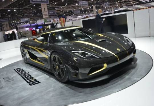 Koenigesgg's 100th production car Hundra is a one-off Agera S built for an excited car collector