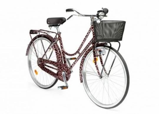 Dolce and Gabbana Animalier bicycle