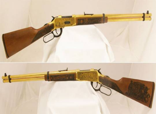 Gold Plated NM Rifles