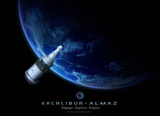 Excalibur Almaz offers a trip to the Moon for $155 Million