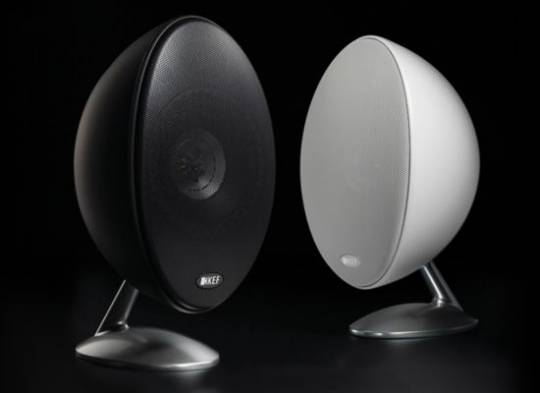 KEF model E305 speakers finishes