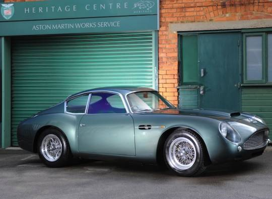 1991 Aston Martin DB4GT Zagato Sanction II Coupé