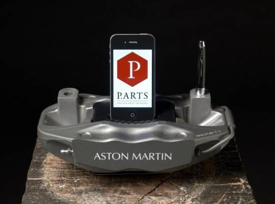 Made-to-order Aston Martin Brake Caliper iPhone/iPod dock