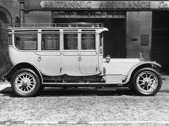 The Corgi, a 1912 Rolls-Royce 40/50hp 'Silver Ghost' Double Pullman Limousine