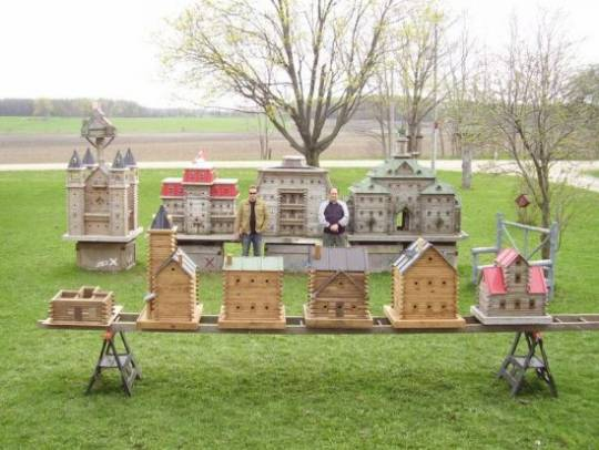 Luxurious Bird Mansions from Extreme Birdhouse