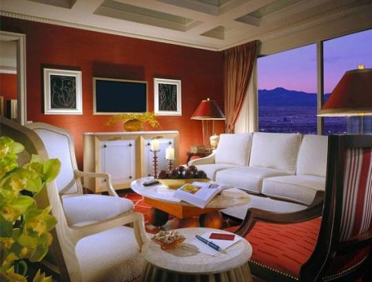 Prince Harry's VIP suite at Wynn Hotel, Las Vegas