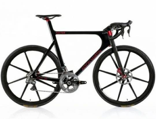 Aston Martin's Limited Edition One-77 Cycle with Factor Bikes will cost $39,000