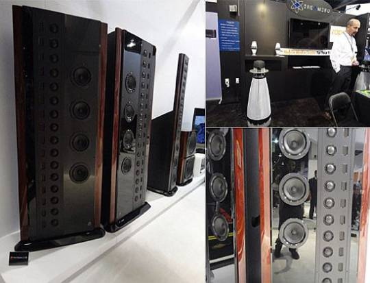 High end audio at CES 2012 event