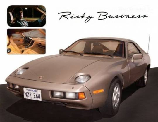 Tom Cruise's Risky Business Porsche