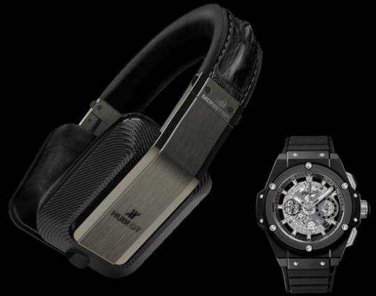 Hublot and Monster Audio team up for the special edition Inspiration headphones