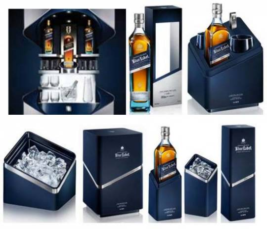 Johnnie Walker Blue Label limited edition collection design by Porsche Design Studio