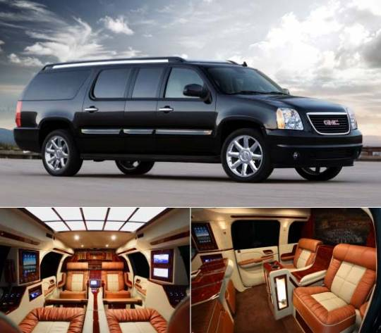 Lexani Motorcars' GMC Yukon XL Conversion Coach makes it easy to forget you're not in a Private JetLexani Motorcars' GMC Yukon XL Conversion Coach makes it easy to forget you're not in a Private Jet